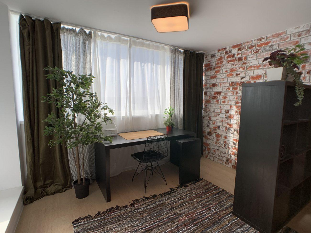 amenajare apartament cu biroul de acasa