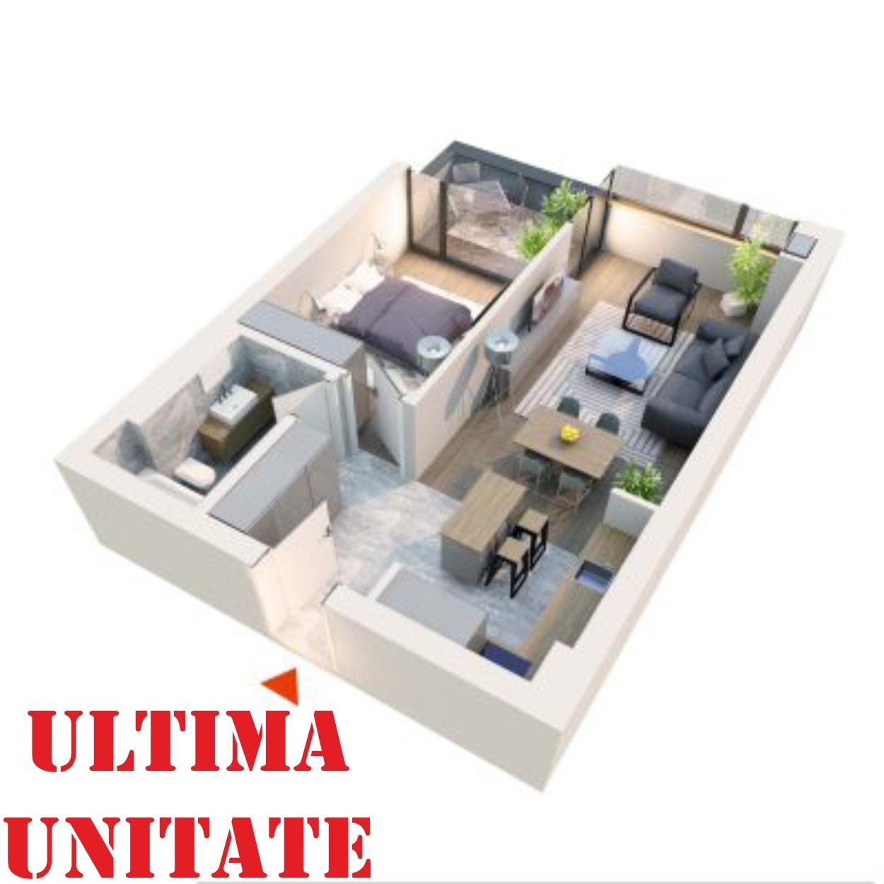 "Apartament 2 camere tip 2D1.1"" Logie | Etaj 1 | Corp C7 | Faza 2"