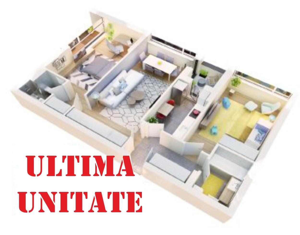 Apartament 3 camere tip 3A logie | etaj 1 | Cladire 3 | Faza 1