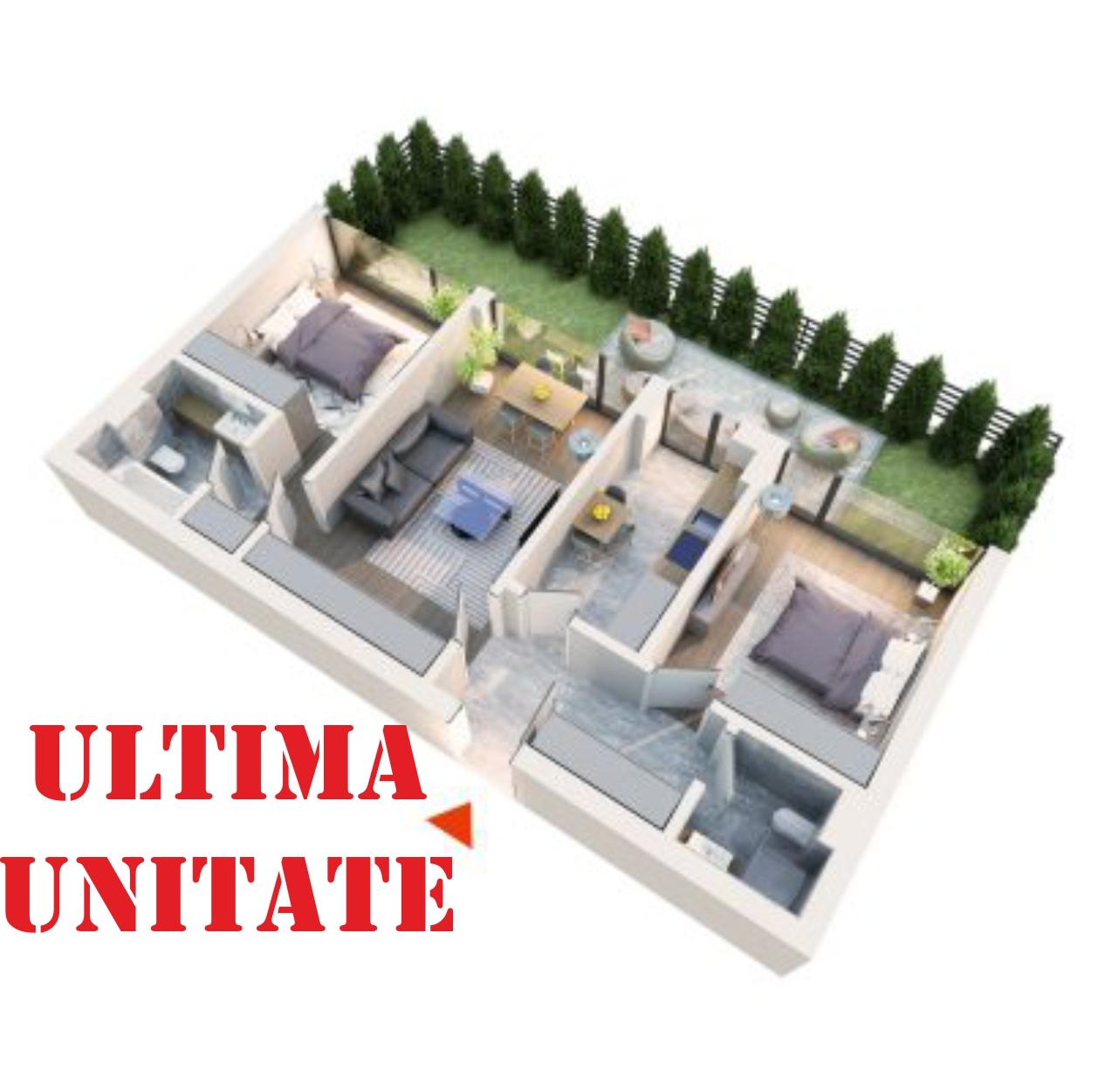 Apartament 3 camere tip 3A4 gradina | Parter | Corp C3 C4 | Faza 2