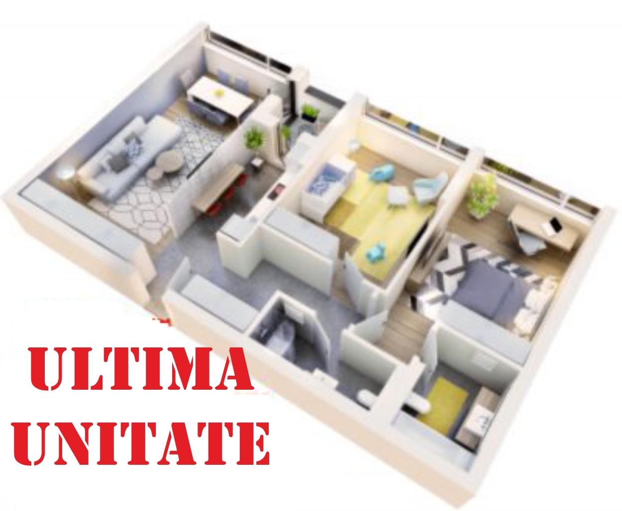 Apartament 3 camere tip 3D.1 logie | etaj 1 | Cladire 4 | Faza 1