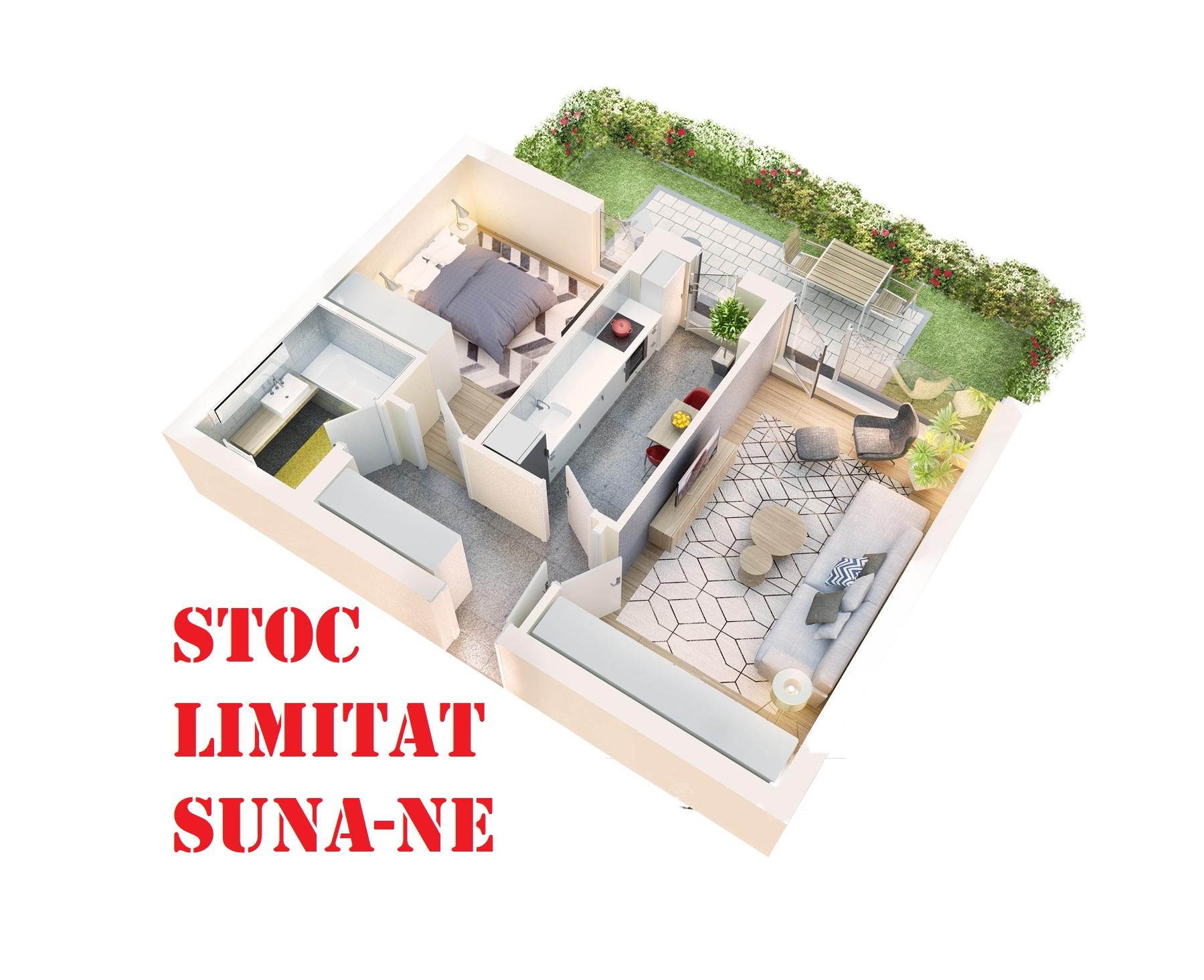 Apartament 2 camere tip 2A.1 terasa si gradina proprie | parter | Cladire 1A | Faza 1