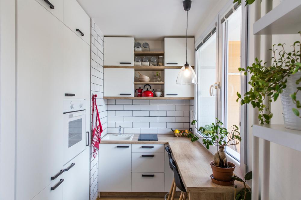 Amenajare bucătărie pe balcon