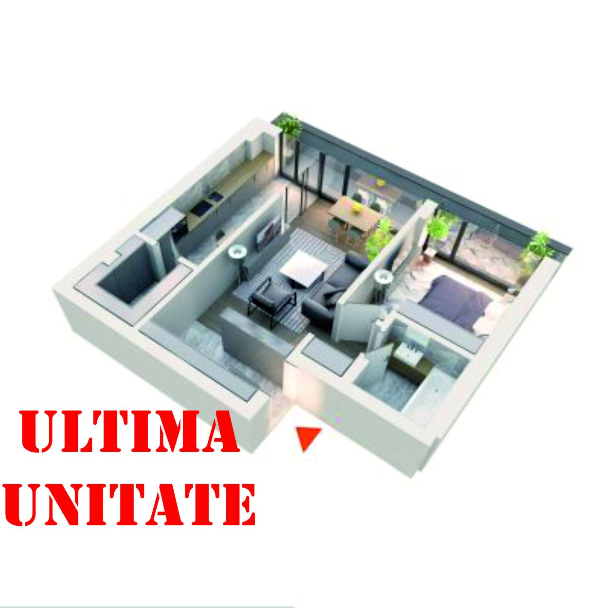 Apartament 2 camere tip 2C4 Balcon | Etaj 4 | Corp C3, C4 | Faza 2