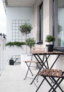 Amenajarea balconului in stilul clasic