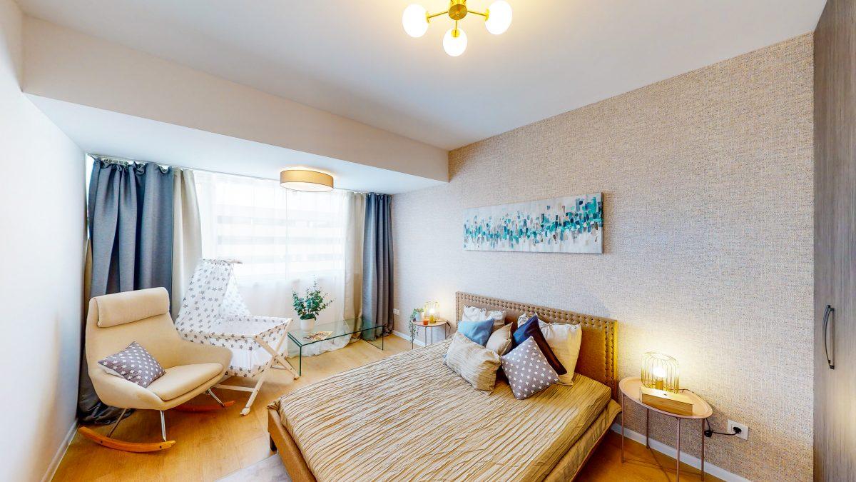 amenajare apartament cu 3 camere finalizat atria urban resort
