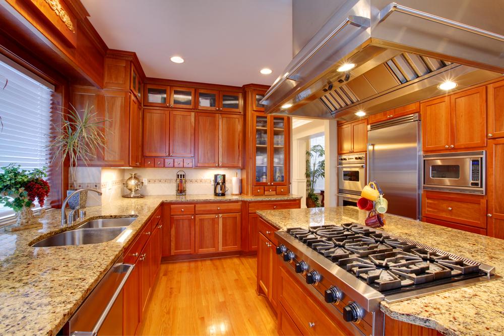 Bucătărie stil american