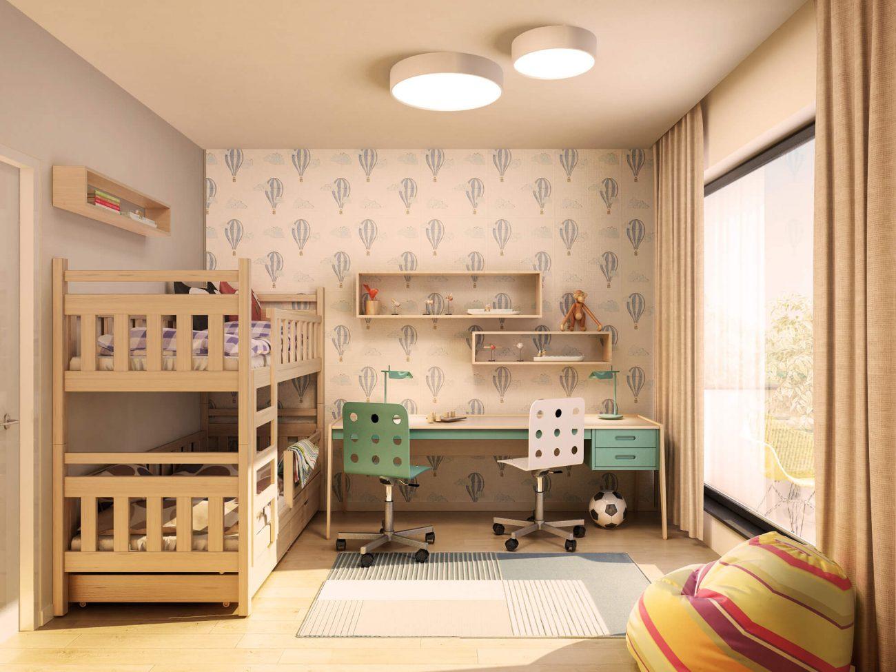 Cameră - dormitor copii