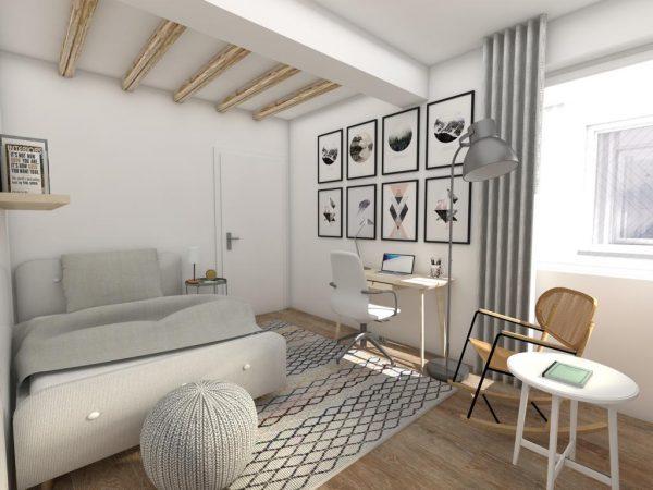 Design apartament arhitect Alina Vîlcu