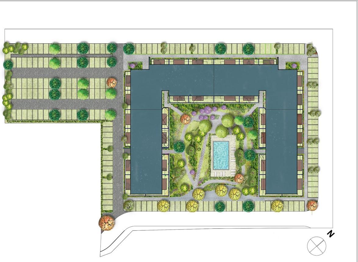 Masterplan Faza 1 Atria Urban Resort
