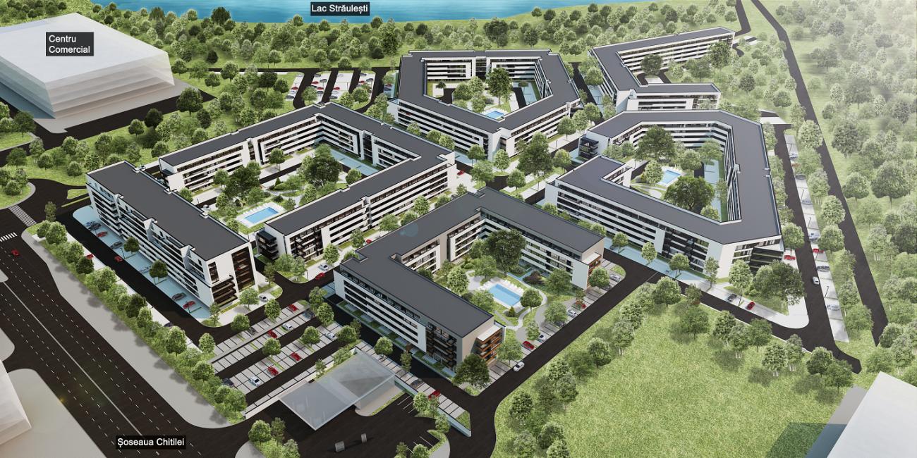 Proiectul Rezidential Atria Urban Resort