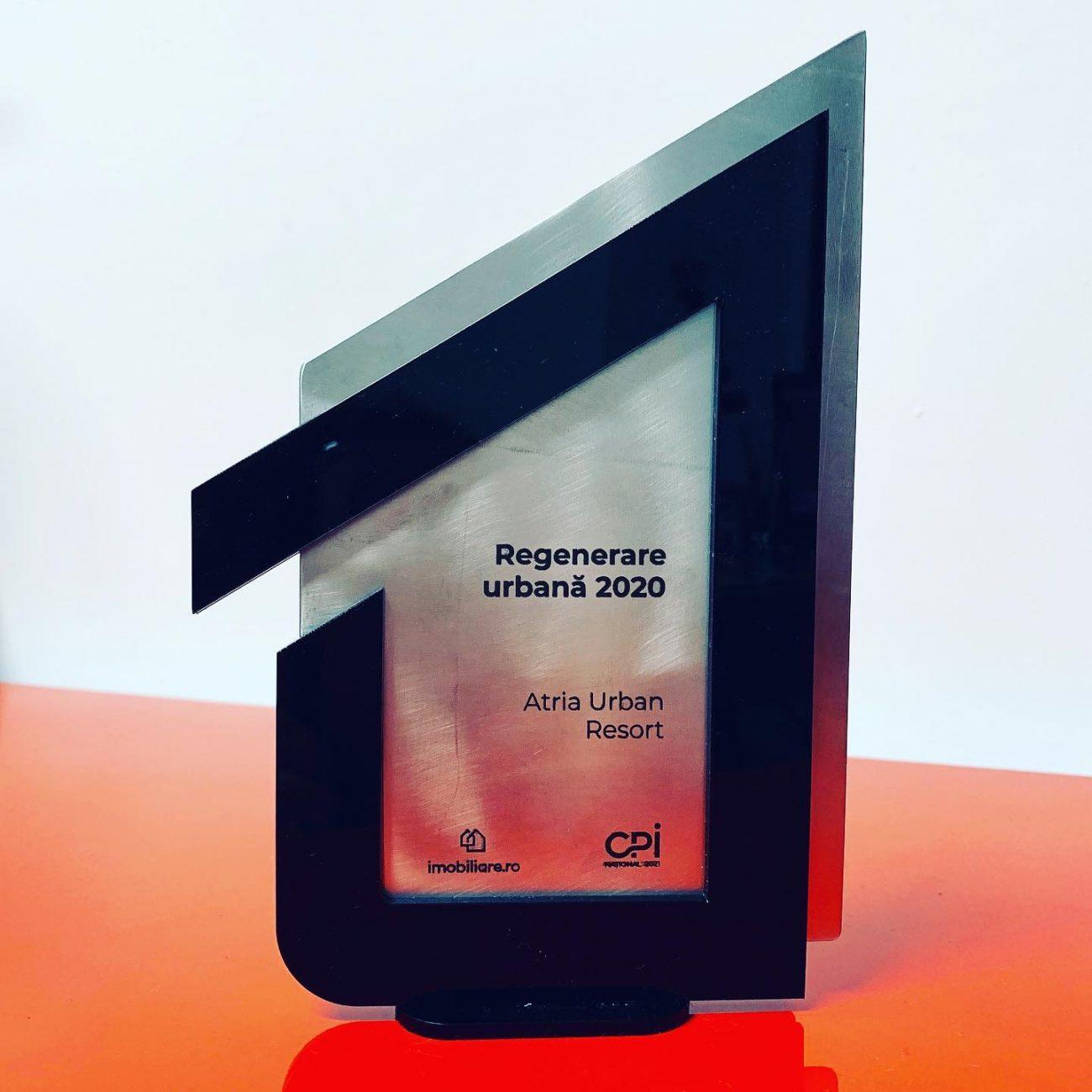 Premiul Gala Profesionistilor in imobiliare Regenerare Urbana