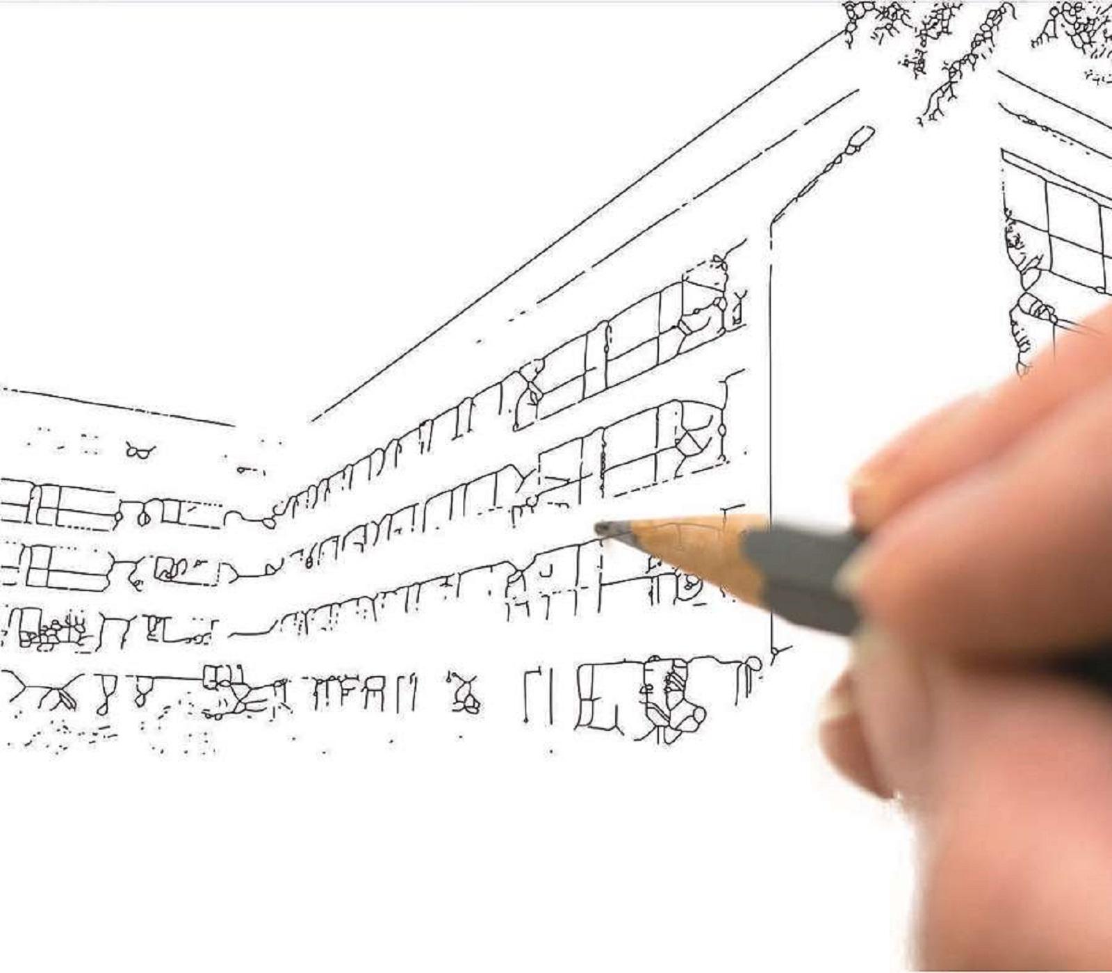 Sketch schita Atria