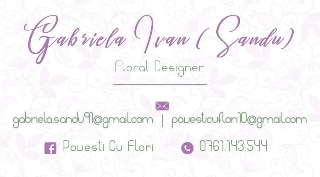 Povesti cu Flori - designer floral