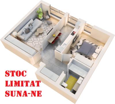 Apartament 2 camere tip 2C.1.2 | parter | Cladire 1 | Faza 1