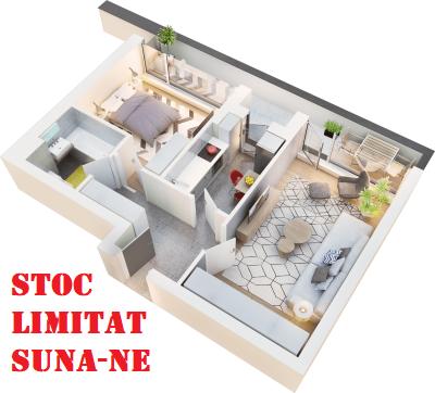 Apartament cu gradin Sector 1
