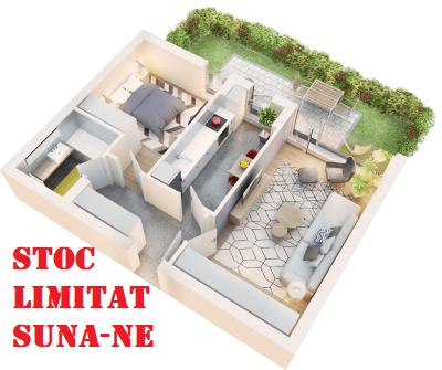 Apartament 2 camere tip 2A.1 terasa si gradina proprie | parter | Cladire 1A