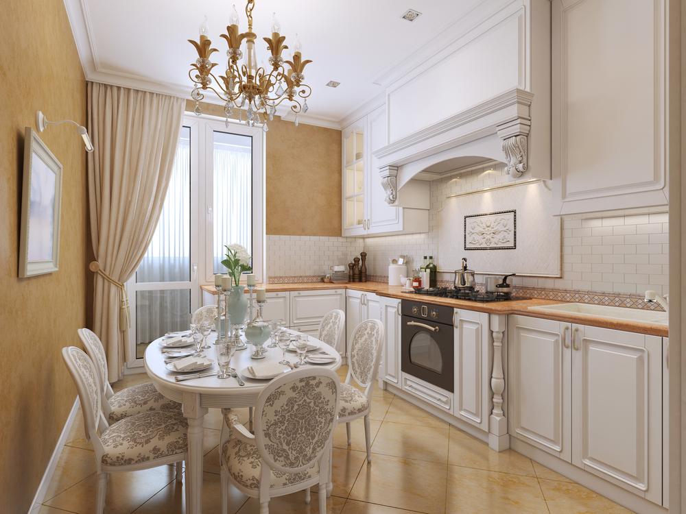 Bucătărie stil vintage